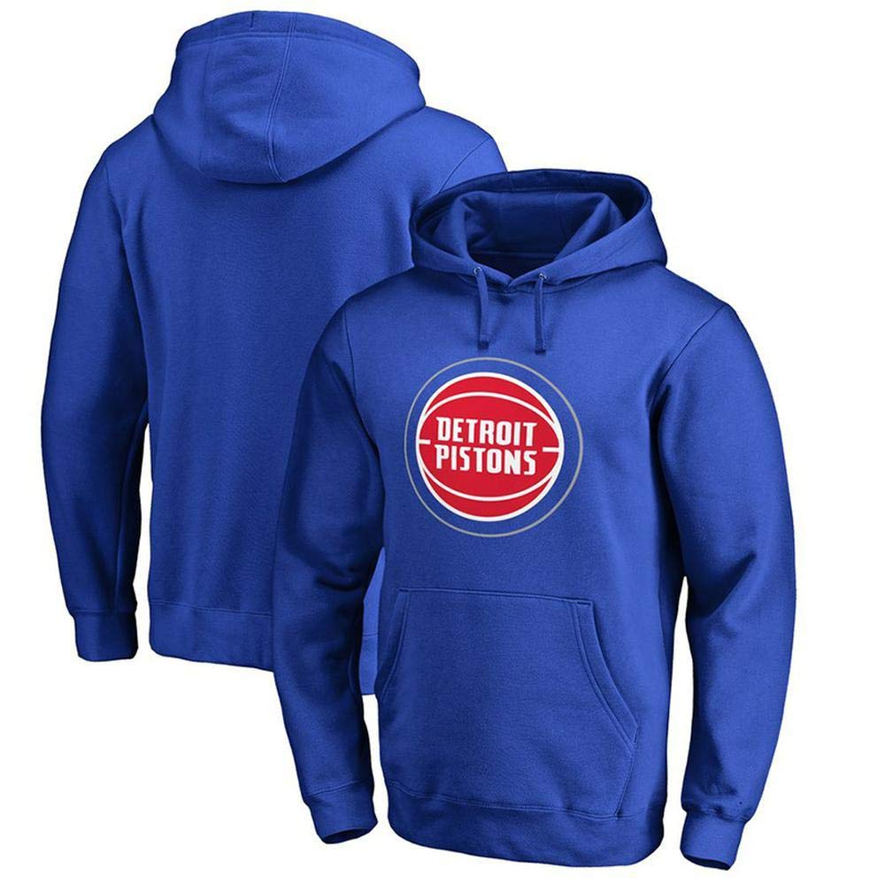 bleu1 petit WSX NBA sweat à capuche Detroit Pistons Basketball Lettre Sport Sweat à Capuche Jeunesse Top Sports Jersey T-Shirt Lakers,bleu1-XXL