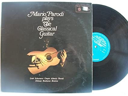 MFP 2094 MARIO PARODI Plays The Classical Guitar vinyl LP: Amazon co