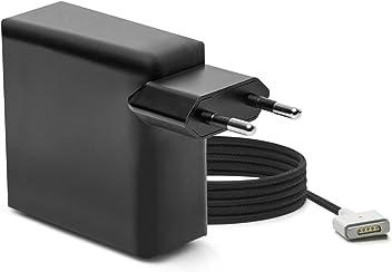 iprotect Nylon Ladegerät 85W für Apple MacBook mit MagSafe 2 Netzanschluss in matt Schwarz - Limited Edition