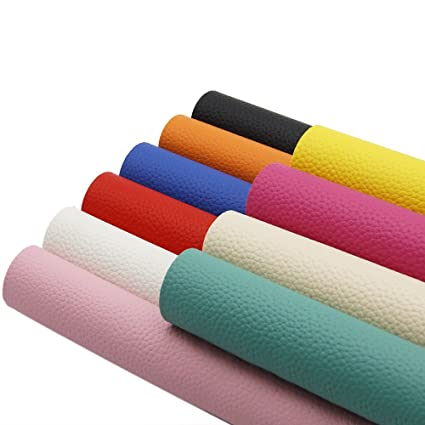 Arts,crafts & Sewing Collection Here 20*34cm Glitter Fabric Faux Synthetic Leather Fabric 20 Colors Faux Pu Leather Sheets A4 For Hair Bow Diy Craft Accessories