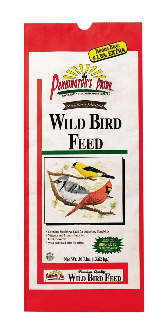 Pennington Pride Wild Bird Feed, 30 lb