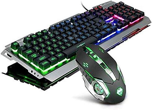 Xiaohu GE - Juego de Teclado y ratón para Ordenador portátil ...