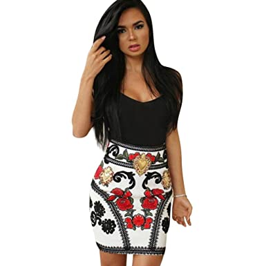 18faeb8856 AmyDong Women Dress, Condole Dress Bodycon Party Dresses Package Hip Skirt  at Amazon Women's Clothing store: