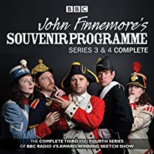 John Finnemore's Souvenir Programme: The Complete Series 3 & 4 Radio/TV Program by John Finnemore Narrated by a full cast, John Finnemore, Carrie Quinlan