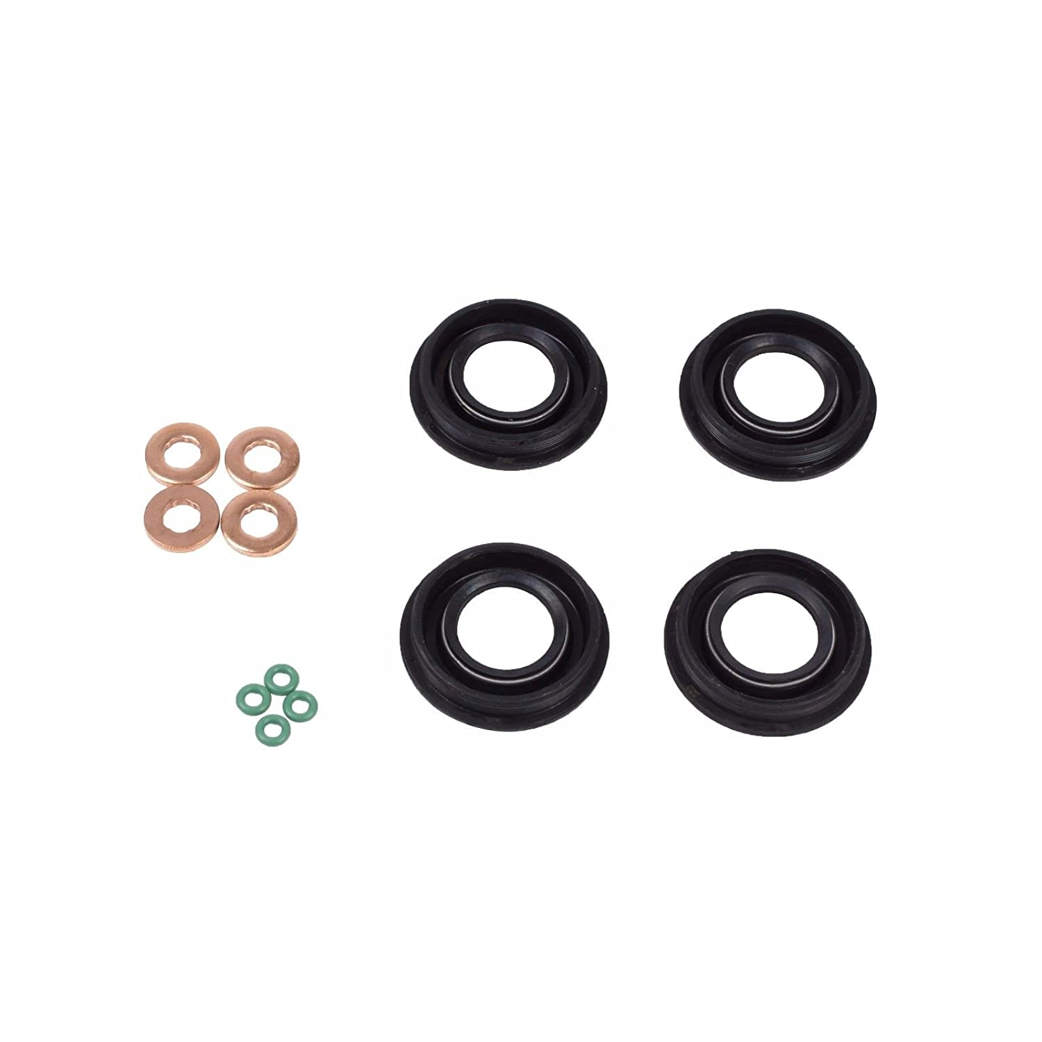 ORING SET FOR LAND ROVER DEFENDER 2.2 2.4 TDCi WASHER O.E FUEL INJECTOR SEAL