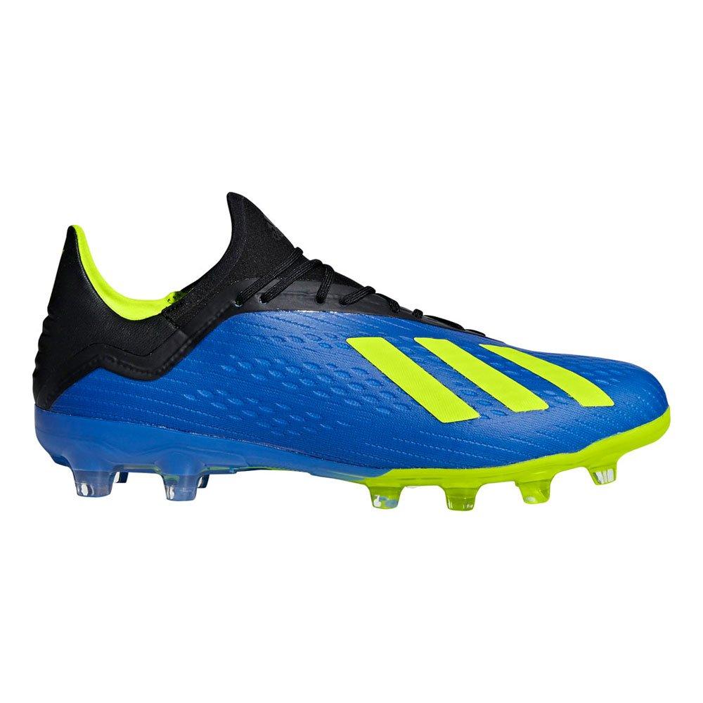adidas(アディダス) メンズ サッカースパイク エックス 18.2 ジャパン HG BB6953 B07DTJF4XWフットボールブルー 26