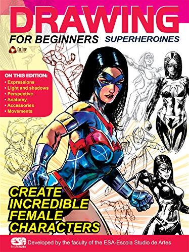 Drawing For Beginners - Superheroines