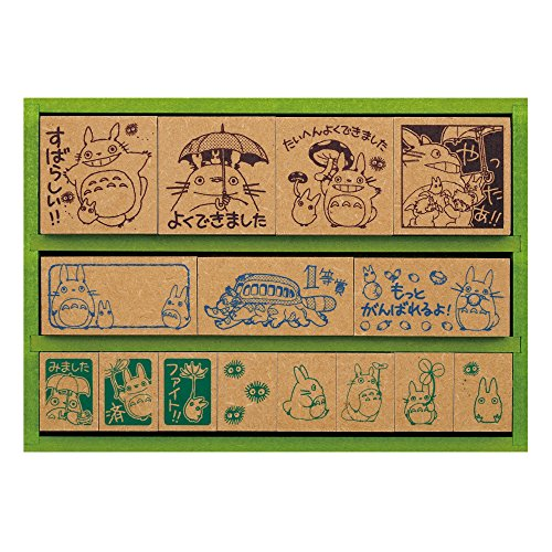 My neighbor totoro wooden stamp