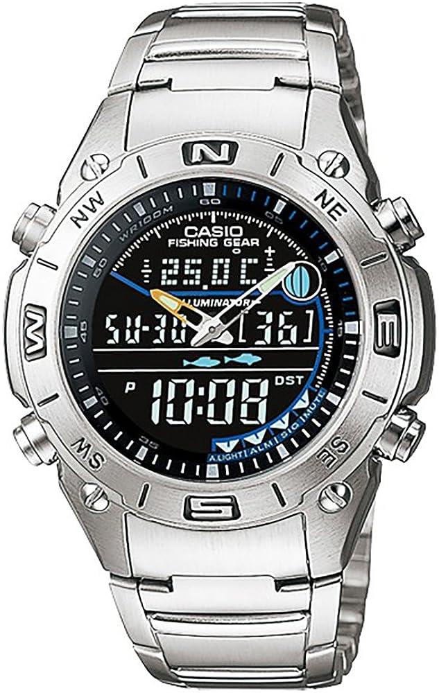 Reloj analógico digital CASIO -OUTGEAR- AMW-703D-1AV - Funciones ...