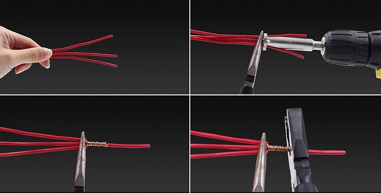 Zooarts Vierkant Universal Elektrokabel Schnellkupplung Parallel Elektrischer Draht Schnellkupplung 1pcs
