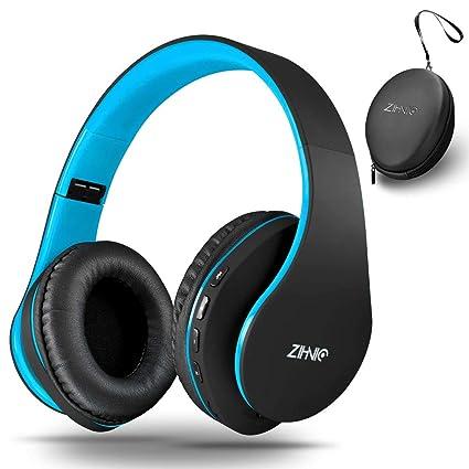 Amazon.com: Zihnic - Auriculares de diadema con Bluetooth ...
