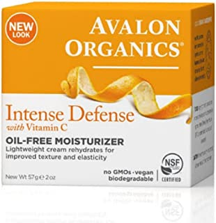 product image for Avalon Organics Intense Defense with Vitamin C, Oil-Free Moisturizer 2 oz (Pack of 12)