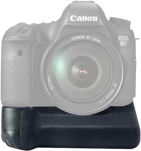 Gin - Empuñadura Battery Grip como BG-E13 para Canon EOS 6D para ...
