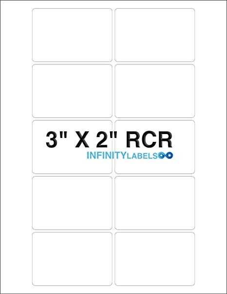 8.5in x 11in sheets 100 pack Glossy white inkjet printable vinyl