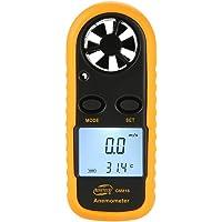 Laurelmartina BENETECH GM816 Termómetro Digital del anemómetro Velocidad