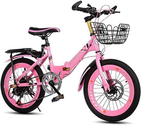 Xiaoping Bicicleta para niños Plegable Bicicleta de montaña ...