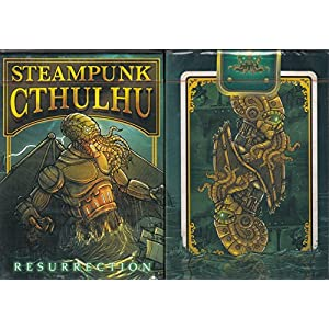 Nat Iwata Steampunk Cthulhu Playing Cards Poker Size Deck EPCC Custom Limited