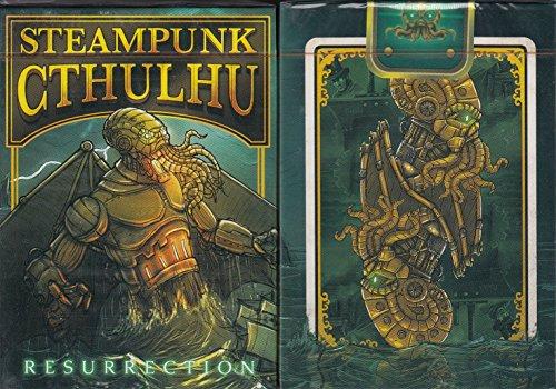 Nat Iwata Steampunk Cthulhu Playing Cards Poker Size Deck EPCC Custom Limited 3