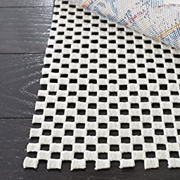 Safavieh Padding Collection PAD111 White Area Rug, 9 feet by 12 feet (9\' x 12\')