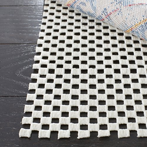 Safavieh Padding Collection PAD111 White Runner, 2 feet by 12 feet (2' x 12') by Safavieh