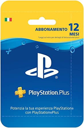 Sony Playstation Plus Card Hang Abbonamento 12 MESI ...
