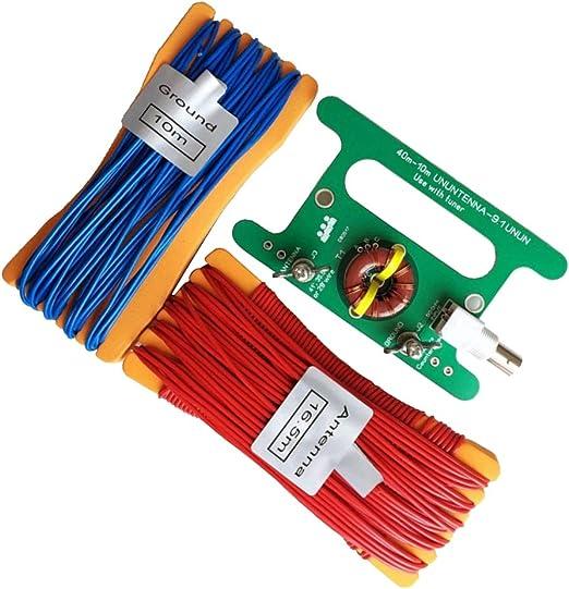 juego de módulo Antena HF Bajo coste Long Wire rtl-sdr ...