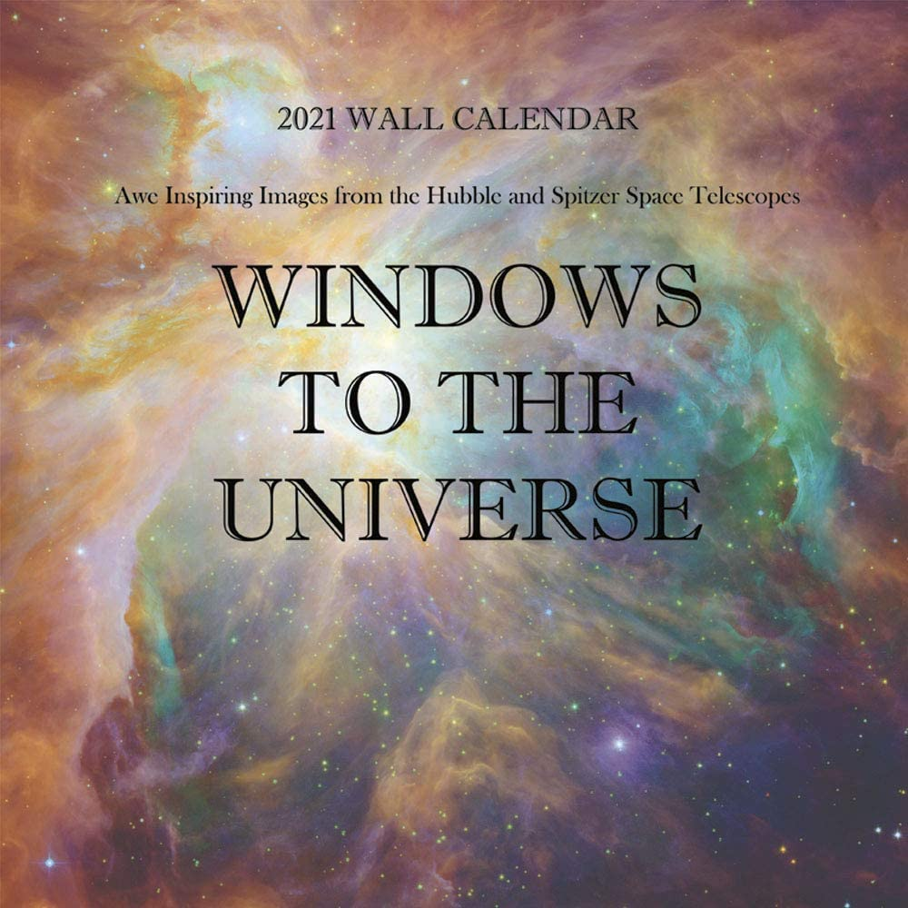Windows Calendar 2021 Amazon.: Space Calendar 2021   Windows to The Universe : Awe