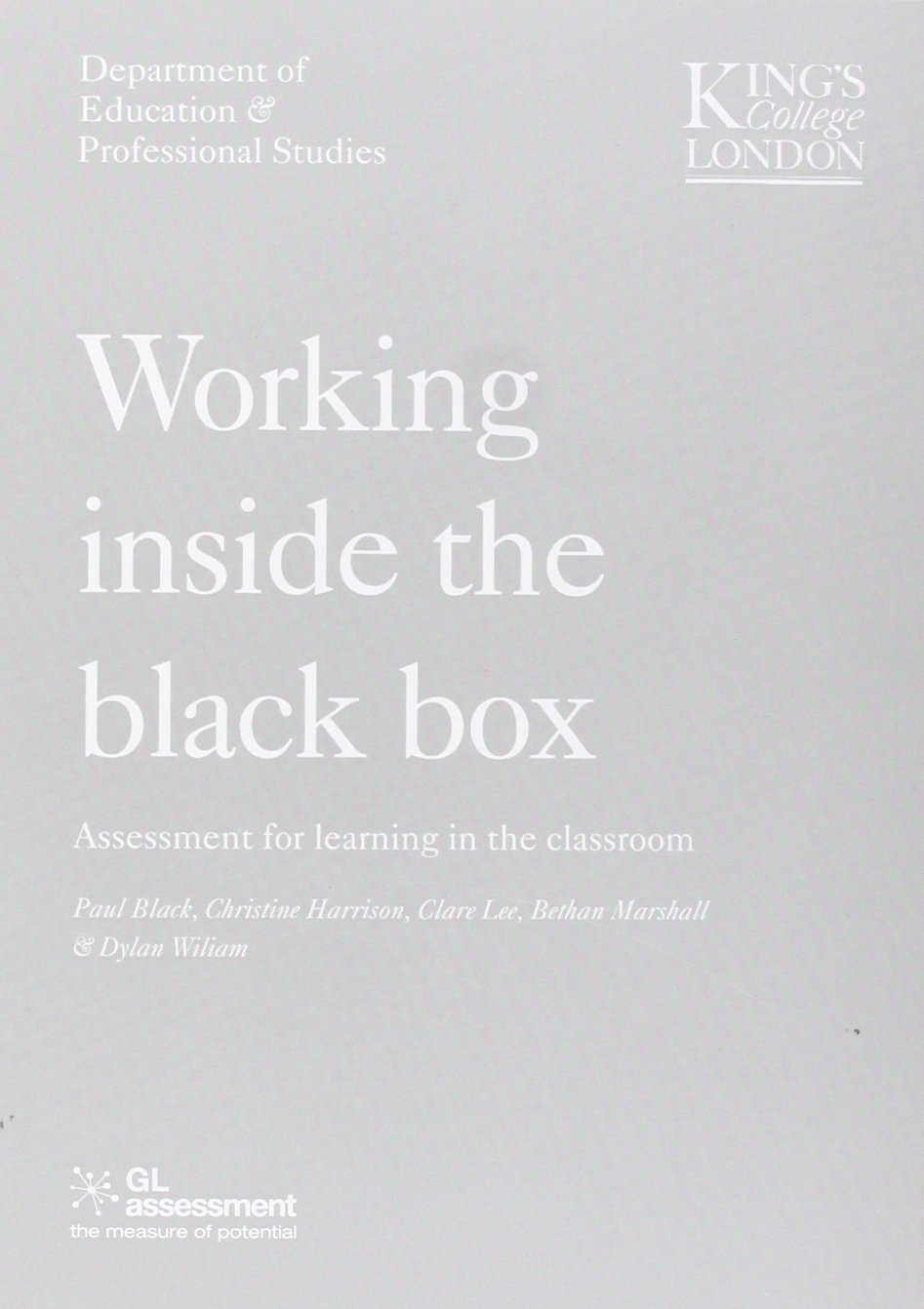 Download Working Inside the Black Box pdf epub