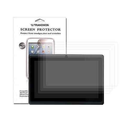 transwon 4 x UltraClear pellicola di protezione schermo per