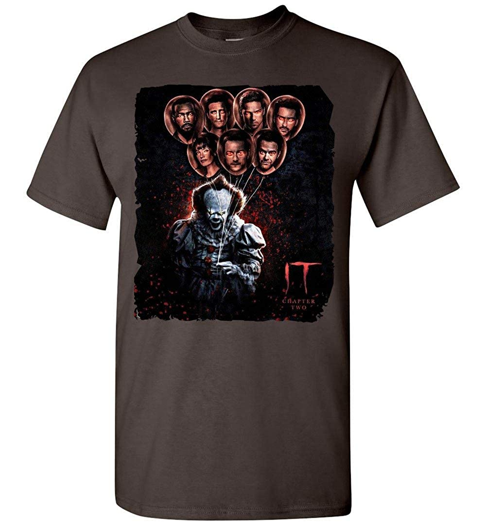 ShinStore The IT 2 Penywise Halloween Adults and Youth T-Shirt