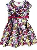 Monster High Scuba Skater Dress With Sparkle Belt Size 4/5