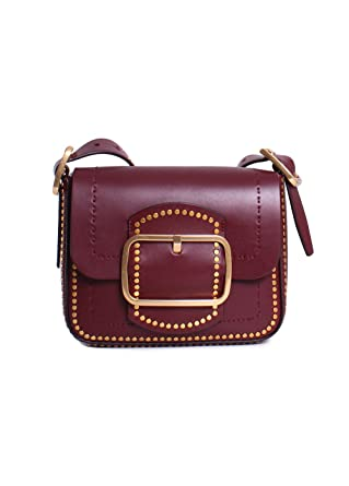 c3de944e4bad Amazon.com  Tory Burch Sawyer Stud Ladies Small Leather Shoulder Bag  42498616  Watches