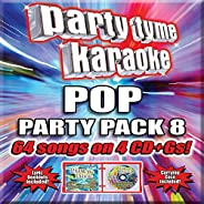 Pop Party Pack 8 [4 CD][64-Song Party Pack]