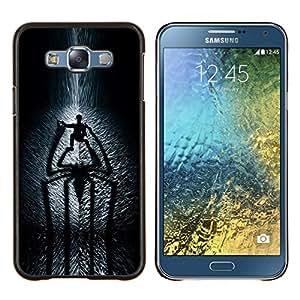 Eason Shop / Premium SLIM PC / Aliminium Casa Carcasa Funda Case Bandera Cover - Araña Sombra - For Samsung Galaxy E7 E700