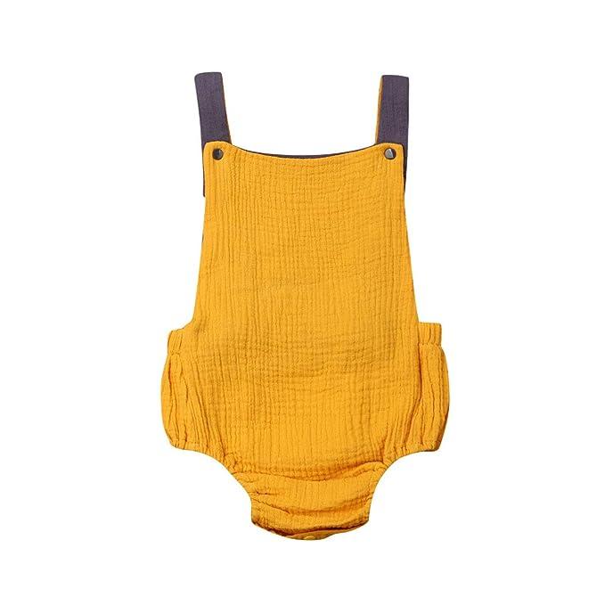 Newborn Baby Boys Girls Romper Bodysuit Jumpsuit Outfits Sunsuit Summer Clothes
