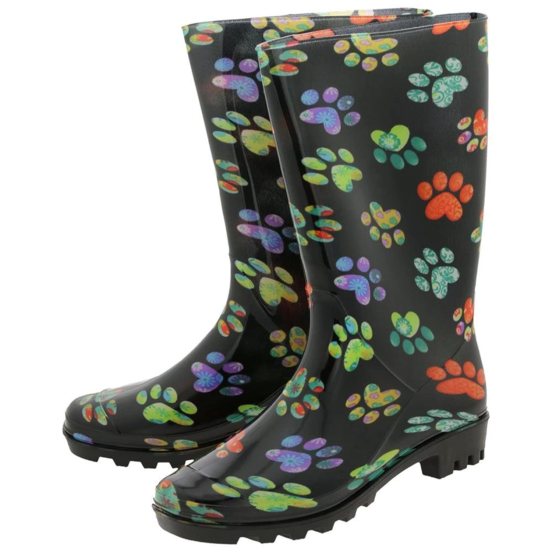 Paws & hearts Galore Ultralite Rain Boots B017DW3EU0 8 B(M) US