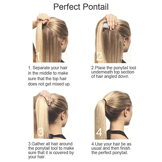 Amazon Beauty Hair Ponytail Holder And Enhancer Perfect