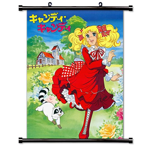 Candy Candy Anime Fabric Wall Scroll Poster (16 x 22) Inches.[WP]-Candy Candy-1
