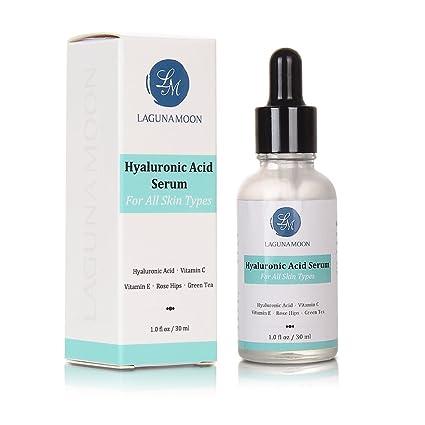Ácido Hialurónico Serum Antienvejecimiento Suero Amara orgánicos vitamina C Suero para todos los tipos de piel