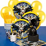 Batman Party Supplies Kit for 8