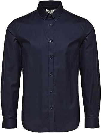 Jack & Jones jjprANDREW Shirt L/S Noos Slim FIT Camisa para Hombre
