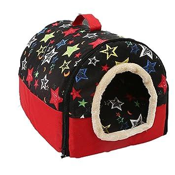 Minkoll Casa y sofá para mascotas, 2 en 1, super cálido, acolchado,