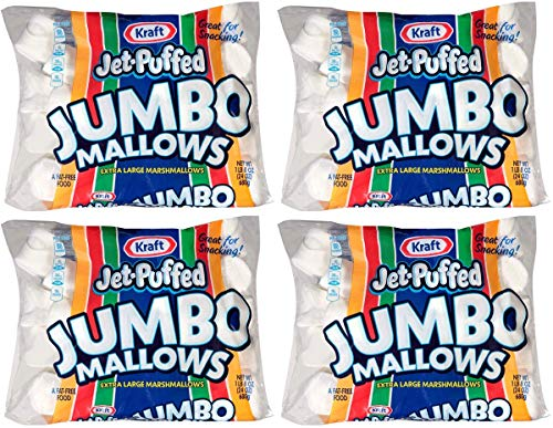 Jet-Puffed VEBJERRW Jumbo Marshmallows, 4 Packs of 8 (24 Ounce/Bag) by Jet-Puffed (Image #3)