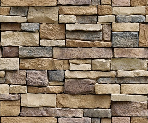 JAAMSO ROYALS Wall Sticker Wallpaper Self Adhesive Wallpaper Easily Removable Wallpaper Use as Wall...