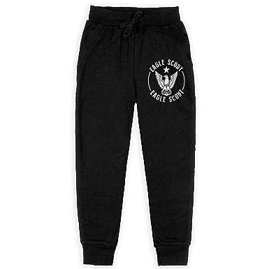 9442387e Amazon.com: Eagle Scout Boys Sweatpants Elastic Waist Pants Sports Pants:  Clothing