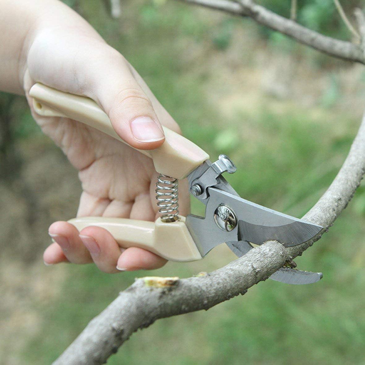 Heaviesk Tragbare Gartenschere Pfropfwerkzeug Obstbaum Gartenschere Bonsai Pruners Gartenschere Gartenschere Gartenschere