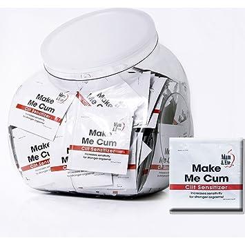 Adam And Eve Make Me Cum Clit Sensitizer For Women Jar Of 144 Pcs