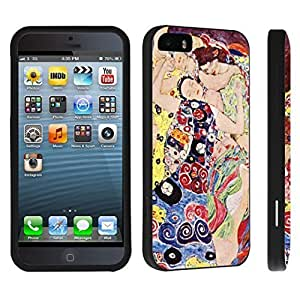 Claude Monet's Garden at Giverny - Case for the Iphone 5 5S -Hard Black Plastic Outer Case with Tough Black Hard Lining