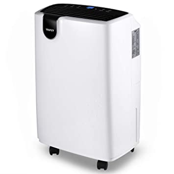 Amazon com - Yaufey 30 Pint Dehumidifier for Home Basements