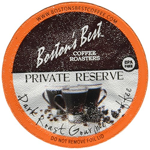 Boston's Best Single Serve K-Cup Coffee, Private Reserve, 42 Count
